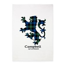 Lion - Campbell of Lochawe 5'x7'Area Rug