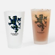 Lion - Campbell of Lochawe Drinking Glass