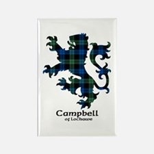 Lion - Campbell of Lochawe Rectangle Magnet