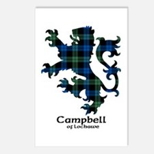 Lion - Campbell of Lochawe Postcards (Package of 8