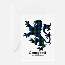 Lion - Campbell of Lochawe Greeting Card