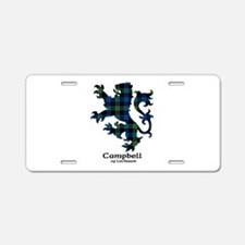 Lion - Campbell of Lochawe Aluminum License Plate