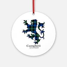 Lion - Campbell of Lochawe Ornament (Round)