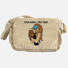 Custom Softball Pitcher Messenger Bag