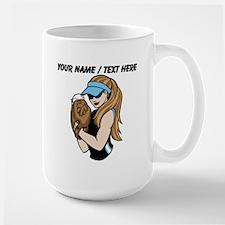 Custom Softball Pitcher Mugs