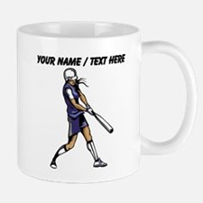 Custom Softball Batter Mugs