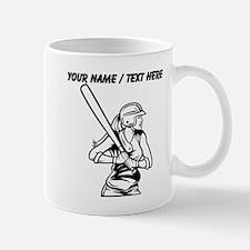 Custom Softball Batter Mugs