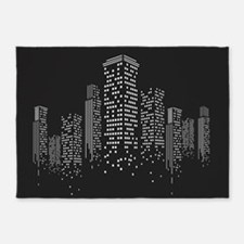 Cityscape 5'x7'Area Rug