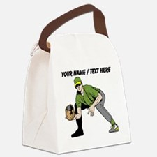 Custom First Baseman Canvas Lunch Bag