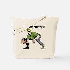 Custom First Baseman Tote Bag