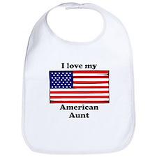 I Love My American Aunt Bib