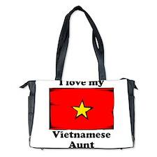I Love My Vietnamese Aunt Diaper Bag