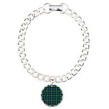 Tartan - Campbell of Loudoun Charm Bracelet, One C