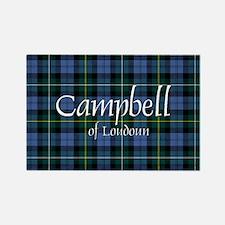 Tartan - Campbell of Loudoun Rectangle Magnet