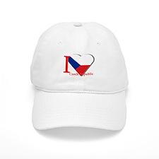 I love Czech Republic Baseball Cap