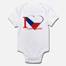 I love Czech Republic Infant Bodysuit