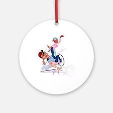 Handicap Slap! Ornament (Round)