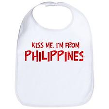 Kiss me Philippines Bib