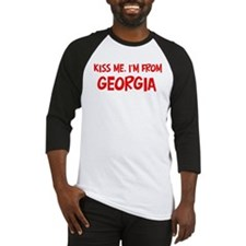 Kiss me Georgia Baseball Jersey