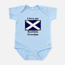 I Love My Scottish Grandpa Body Suit