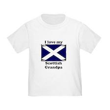 I Love My Scottish Grandpa T-Shirt