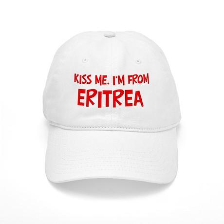 Kiss me Eritrea Cap