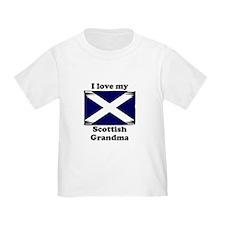 I Love My Scottish Grandma T-Shirt