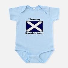 I Love My Scottish Aunt Body Suit