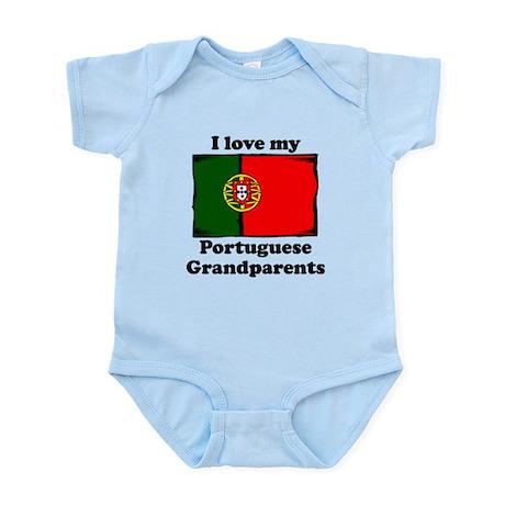 I Love My Portuguese Grandparents Body Suit