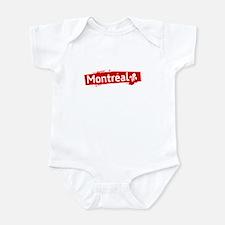 'Montreal' Infant Bodysuit