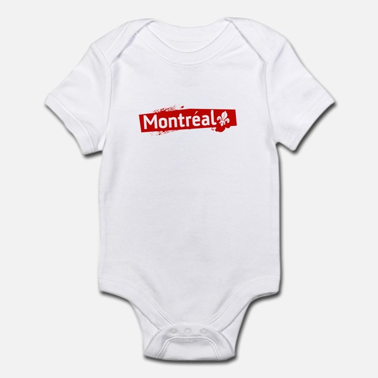 'Montreal' Infant Bodysuit