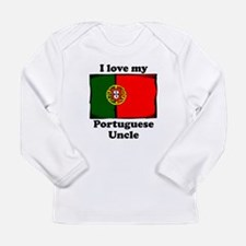 I Love My Portuguese Uncle Long Sleeve T-Shirt