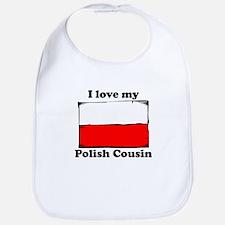 I Love My Polish Cousin Bib