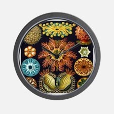 Vintage Marine Life Wall Clock