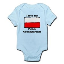 I Love My Polish Grandparents Body Suit