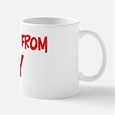 Kiss me Italy Mug