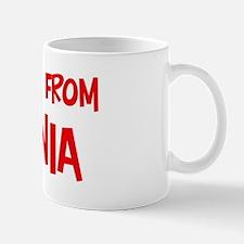 Kiss me Romania Mug