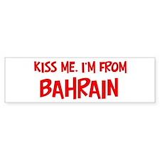 Kiss me Bahrain Bumper Bumper Sticker