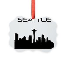 Seattle Skyline Ornament