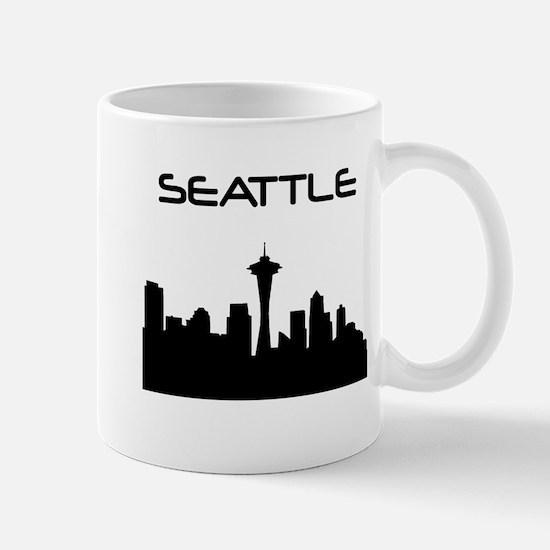 Seattle Skyline Mugs