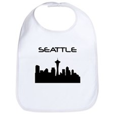 Seattle Skyline Bib