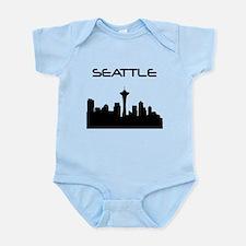 Seattle Skyline Body Suit