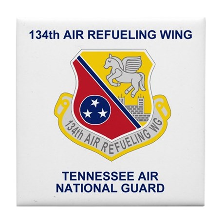 134th Air Refueling Wing Tile Coaster