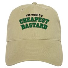 World's Cheapest Bastard Baseball Cap