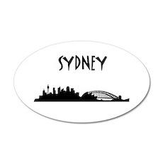 Sydney Skyline Wall Decal