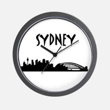 Sydney Skyline Wall Clock