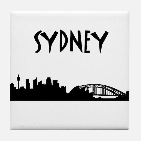 Sydney Skyline Tile Coaster