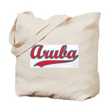Retro Aruba Tote Bag