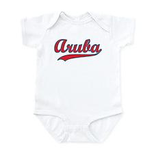 Retro Aruba Infant Bodysuit