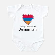 Happily Married Armenian Infant Bodysuit